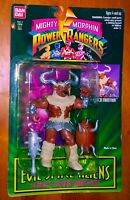 "1994 ""MIGHTY MORPHIN POWER RANGERS"" SET OF 4 EVIL SPACE ALIENS NEW!"