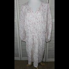 Old Navy Floral Dress Womens Size XL Rayon Polyester