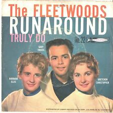 FLEETWOODS--PICTURE SLEEVE ONLY---(RUNAROUND)--PS--PIC--SLV