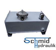 Hydrauliktank 8 Liter Hydrauliköltank