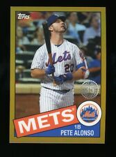 2020 Topps Chrome | Pete Alonso [Mets] | 1985 Insert - Gold /50