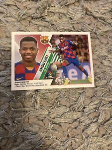 2019/2020 Panini La Liga Este - Ansu Fati ROOKIE Sticker - Barcelona #13BIS MINT