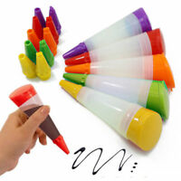 Silicone Pastry Icing Piping Utensil Nozzles Cake Fondant Tool Decorating Pen