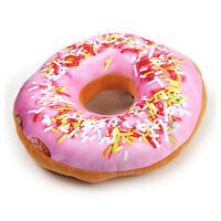 24cm/22.9cm Donut Almohada - Rosa Confeti Aro Replicushion