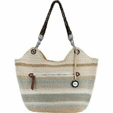 Brand New The Sak Indio Crochet Satchel Bag