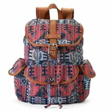 Mudd Brennan Tribal Print Backpack School Book Bag - NWT
