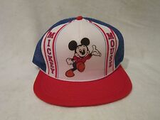 Vintage Walt Disney Snapback Hat Mickey Mouse from 1982