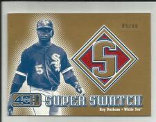Ray Durham 2002 Upper Deck 40 Man Super Swatch Jersey GOLD #09/40   White Sox