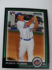 2010 Bowman Chrome #216 Ruben Tejada New York Mets Rookie RC Baseball Card