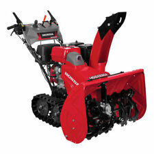 "Honda (32"") 389cc Two-Stage Track Drive Snow Blower w/ 12-Volt Electric Start"
