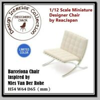 Dollhouse 1/12  Miniature Interior Designer Chair Collection CP01 LT No.2