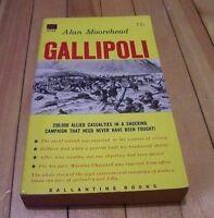 ALAN MOOREHEAD: GALLIPOLI Balantine books 1956