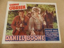 "DANIEL BOONE(1936)GEORGE O'BRIEN ORIGINAL 11""BY14"" LOBBY CARD"