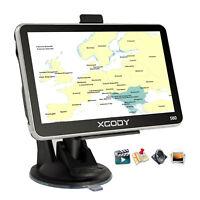 5'' GPS SAT NAV Navigation Navigator System 8GB SpeedCam for Car Truck XGODY 560