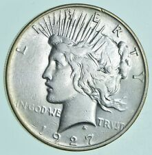 1927-D Peace Silver Dollar - Walker Coin Collection *822