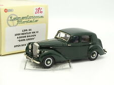 Lansdowne Models 1/43 - Bentley MKIV Saloon Verte 1950