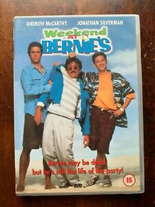 Weekend at Bernies DVD 1989 Cult Dead Body Comedy Movie w/ Andrew McCarthy