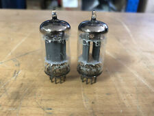 2 Telefunken Smooth Long plate 12ax7 ECC83 Vacuum Tubes Tested Guaranteed Dynaco