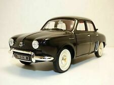 1958 RENAULT Dauphine Black W/ Red Interior 1/18 Diecast Model by NOREV 185169