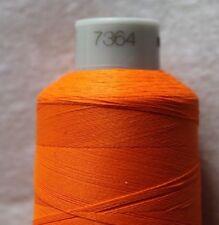 7364 - Orange Frosted Matt No.40 1000 m Stickgarn Madeira Neu