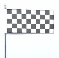 Black & White Chequered Ultimate Table Flag