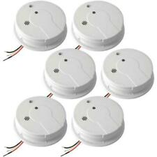 Kidde i12040 Ionization Smoke Detector with Battery Backup - Pack of 6