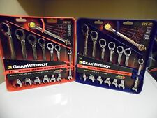 16pc GearWrench 9533 9543  Rev. Ratcheting Combination Wrenches SAE & Metric