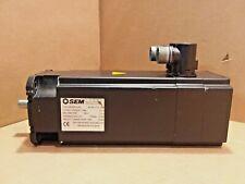 SEM Servo Motor HRS92E4-44S 2.2NM 6000 RPM 260 V 3030-0137 Brake 24 VDC 5NM