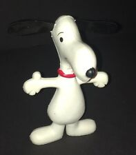 Vintage Rare Snoopy Bendable Toy Figurine 1969 From Peanuts Gang Excellent Shape