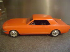 "VINTAGE AMF Wen Mac FORD MUSTANG 1966 Car Model 15"" Battery Operated"