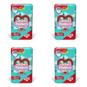 Pampers Baby Dry Pannolini Mutandina Misura 6 (15Kg+) 56 Pannolini