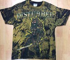 Disturbed Heavy Metal Rock Band Men's Medium Shirt