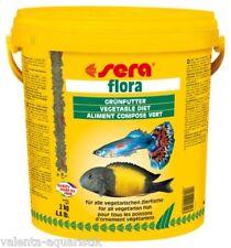 Sera Flora 2 kg =10 l Grünfutterflocken Fischfutter Flockenfutter frische Ware