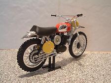 Steve McQueen 1970 HUSQVARNA Husky 400 Cruz Vintage Motocross Modelo Mega Detalle