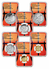 2020 Basketball Hall of Fame 6-Pc Set NGC PF70+MS70 FDI Basketball Core PRESALE