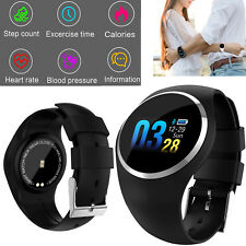 Black Smart Watch Bluetooth Sport Bracelet Call Reminder For Android Samsung Ios