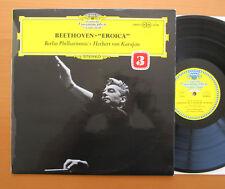 SLPM 138 802 Beethoven Symphony 3 Karajan Berlin Philharmonic TULIP Stereo EX/EX