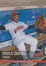 2017 Indianapolis Indians Danilo Sanchez Pittsburgh Pirates CO