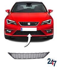 NEW SEAT LEON FR 5F 2012 - 2017 FRONT BUMPER CENTER LOWER BLACK GRILL