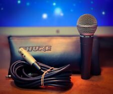Shure SM58S Dynamic Microphone (Case XLR Cables & Heavy Metal Stand Included)