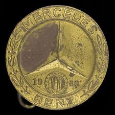 Mercedes Benz 1936 540k Badge Emblem Logo Motor Co Car 70s Vintage Belt Buckle