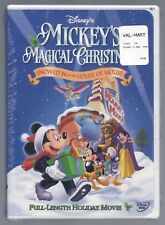 Mickeys Magical Christmas: Snowed In at the House of Mouse (DVD, 2001) BRAND NEW