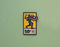 Captain America Comics Fan Art Enamel Pin