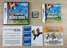 New Super Mario Bros ~ Nintendo DS PAL ~ VGC Complete w/manual