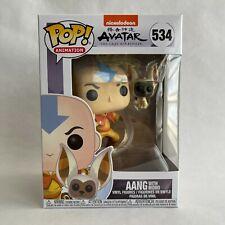 Funko Pop! Animation Aang Avatar The Last Airbender Nickelodeon 534