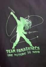 LOT OF 2 2XL 3XL Black Fame Zip Hair Stylist Smock Jacket Team Panagenics Future