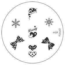Nail-Art-Stamping-Schablonen aus Metall