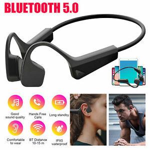 Wireless Flexible Bone Conduction Headset Bluetooth5.0 Sport Open Ear Headphones