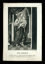 santino incisione 1800 S.GIUSEPPE