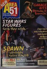 Area 51 Sci-Fi Collecting Magazine No 1 Dec 1997 Star Wars, Star Trek, Dr Who